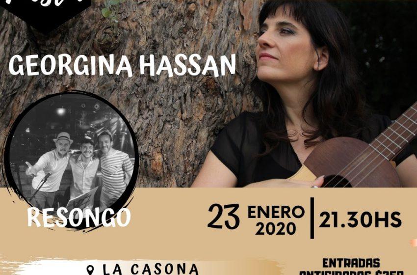 Georgina Hassan + Resongo. Doble propuesta para celebrar el día del Músico